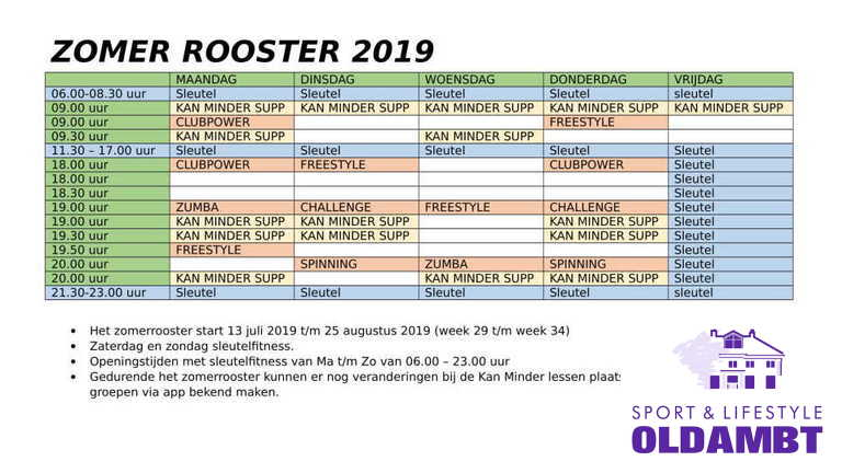 Zomerrooster 2019